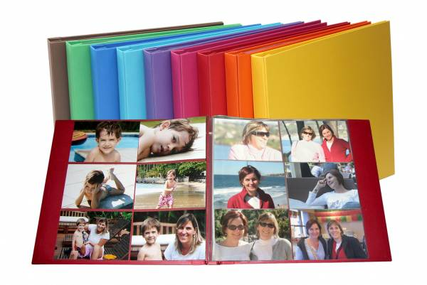 Álbum Decorado Itália miolo plástico para 120 fotos 10 x 15 cm