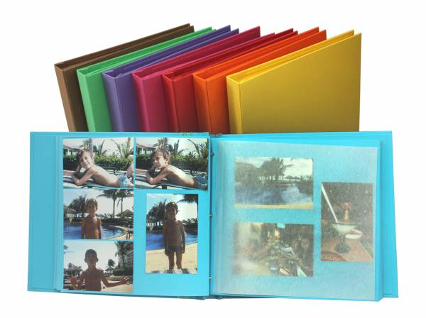 Álbum Decorado Londres miolo papel 30 x 30 cm