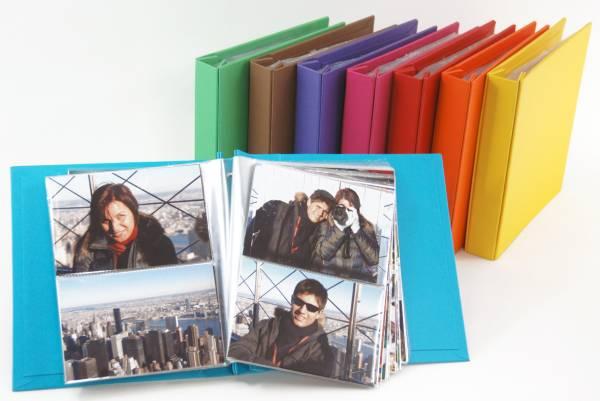 Álbum Decorado NY miolo plástico para 200 fotos 10 x 15 cm